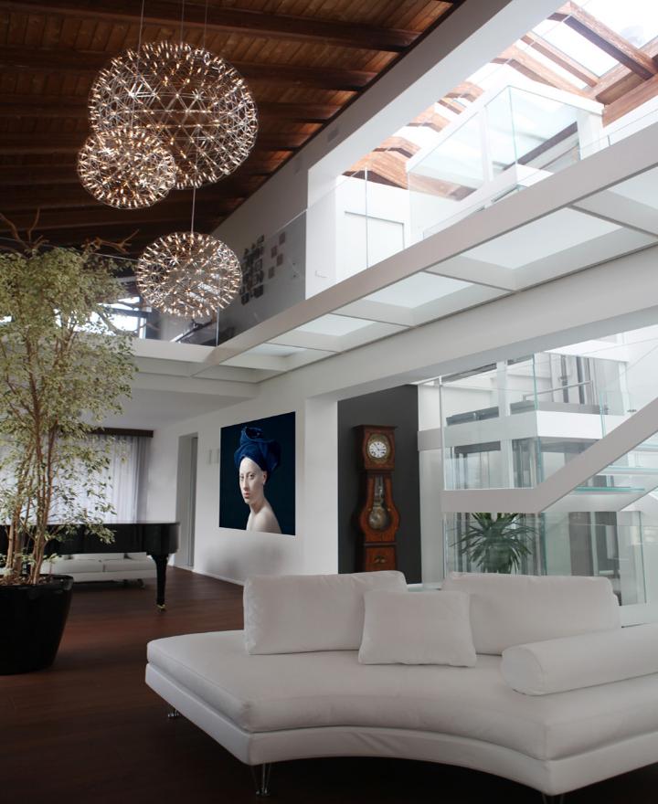 Trasformazione di un fabbricato anni 39 60 in villa moderna for Casa moderna un piano