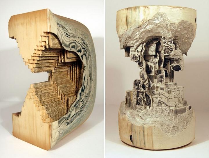ブックアート彫刻-socialdesignmagazine28
