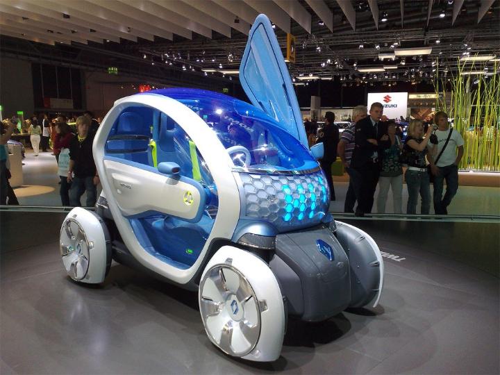Z concept de Renault Twizy magazine design social