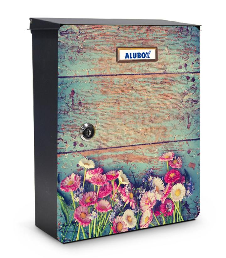 Flores por minha caixa de correio projeto miabox