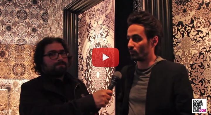 Gabriele director de arte más importantes del estudio Macel Wanders Fuorisalone 2015 SDM Entrevista