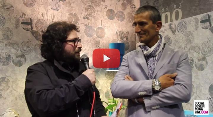 el entrenador Roberto Nobili de Milano Bedding Feria del Mueble de 2015 SDM Entrevista