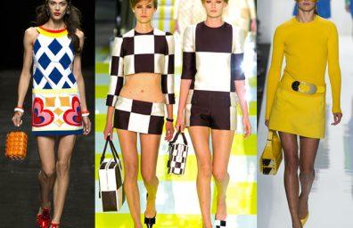 Kleidung Jahre 60