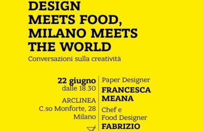 αφίσα πακέτο πληρούν σχεδιασμό τροφίμων Gifasp Arclinea