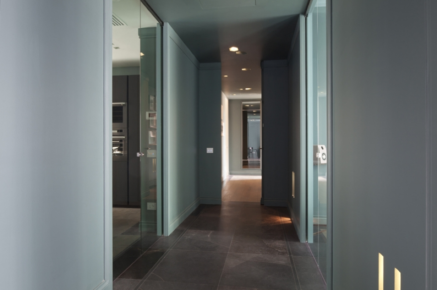 Atelier Durini15インテリアデザインAndreaCastrignano、Buzzi&Buzzi照明