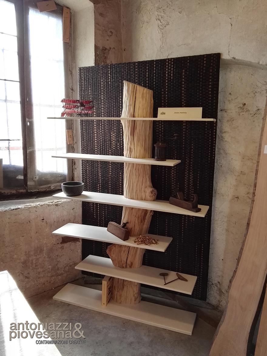 Trunk library, design Roberto Corazza