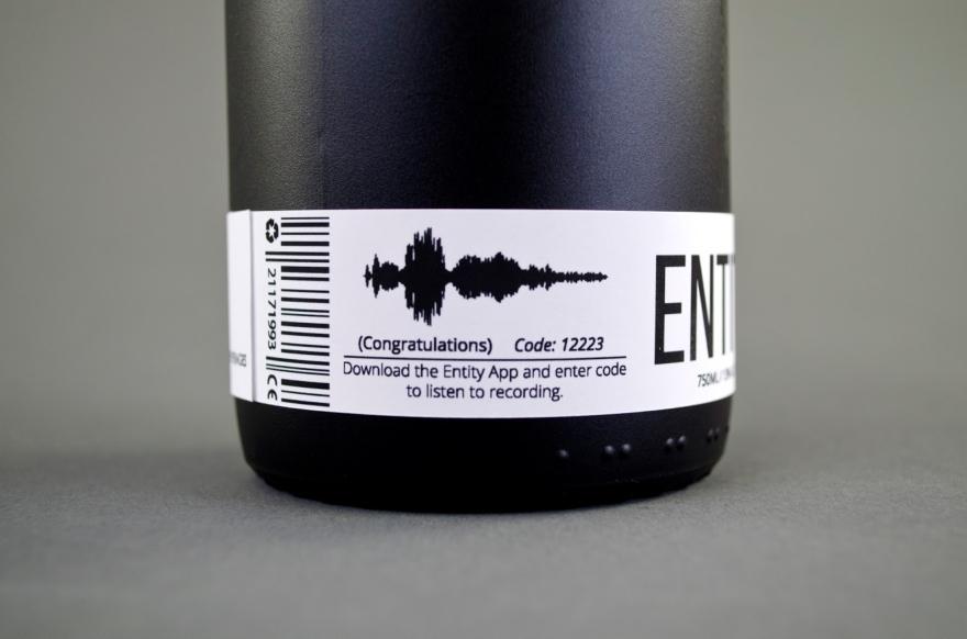 Κρασί σχεδιασμό της συσκευασίας Οντότητα 02