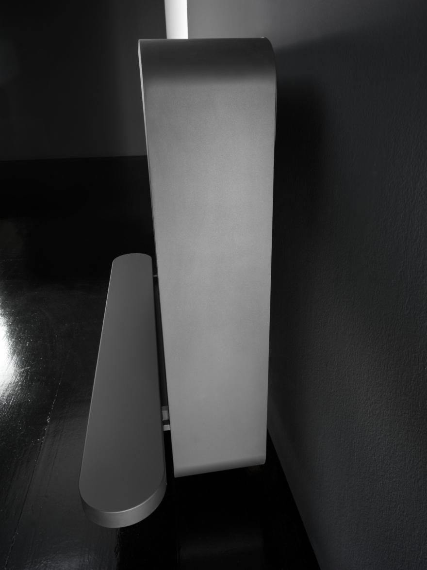 Chimeneas de bioetanol o madera Antrax, el modelo B Muro
