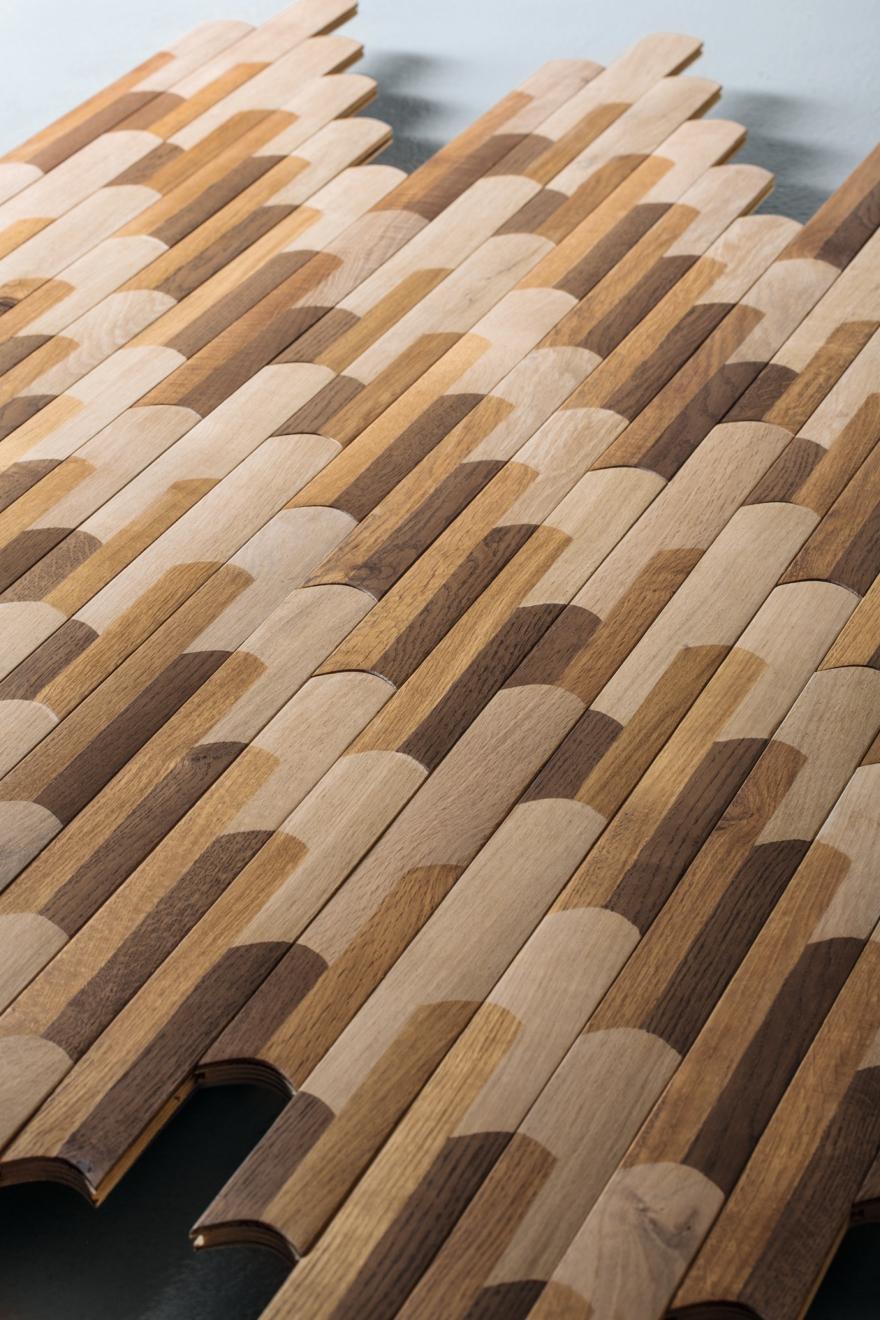 Τα πατώματα σκληρού ξύλου Listone Giordano μπισκότο n6 διαγώνιο