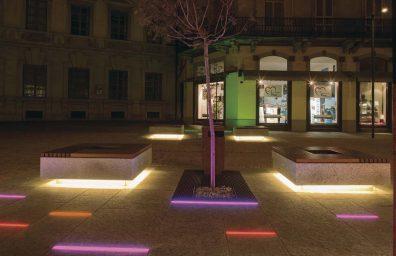 LED public lighting for Bellinzona lighting design Stefano Dall'Osso