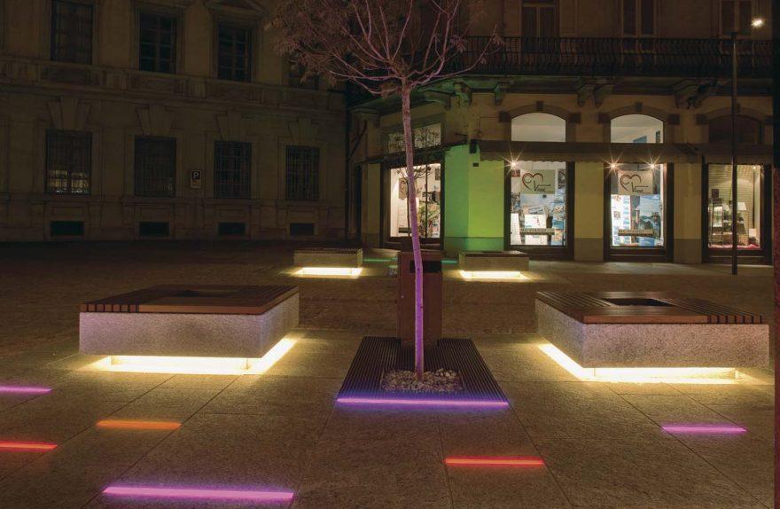 Δημόσιος φωτισμός LED για σχεδιασμό φωτισμού Bellinzona Stefano Dall'Osso