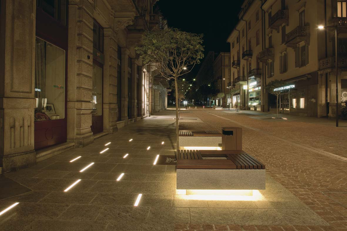 Φωτισμός LED σχεδιασμό φωτισμού Μπελιντσόνα Stefano Dall'Osso 07