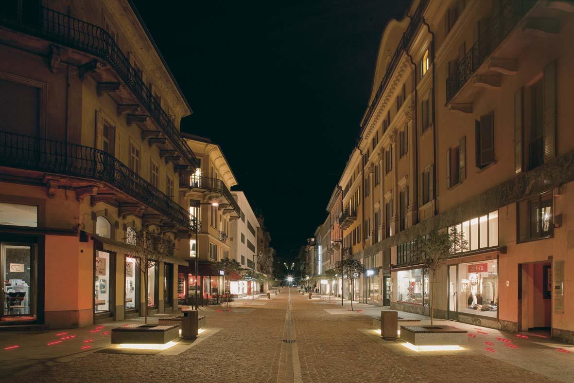 Φωτισμός LED σχεδιασμό φωτισμού Μπελιντσόνα Stefano Dall'Osso 09
