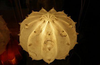 砂漠ライト、有機設計からランプ、彫刻