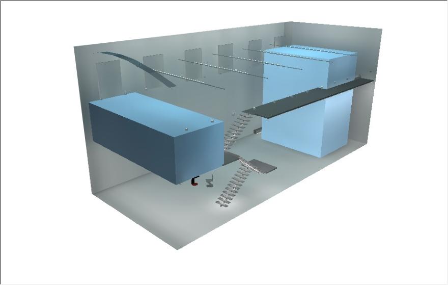 Rada Markovic, lighting design for Massimo Vitali home 15C DIALux 3D render