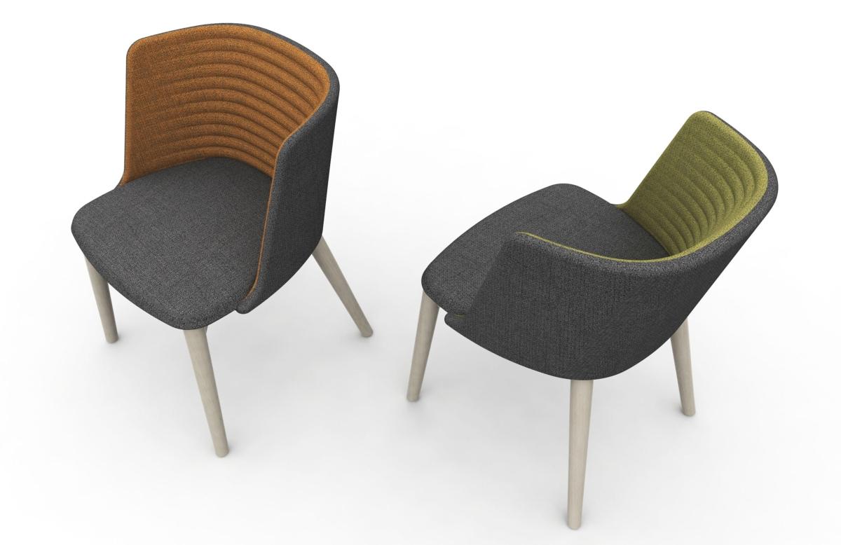 Domitalia sillón tapizado Clase