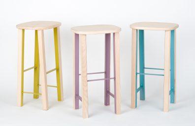 Mario Alessiani high Antelope stool