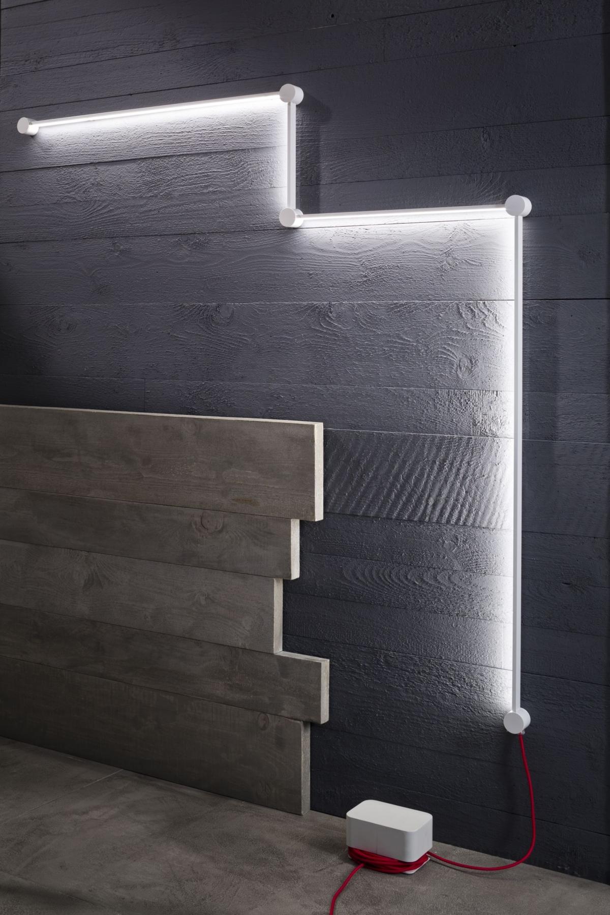 lâmpada de parede Zava ponto para ponto