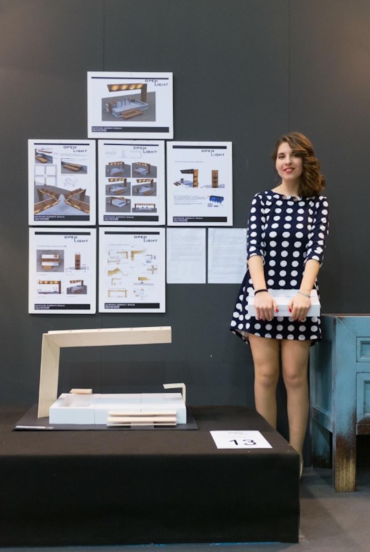 Julia Zumpano Téléchargée, gagnant du concours à Originalia CASAIDEA 2016