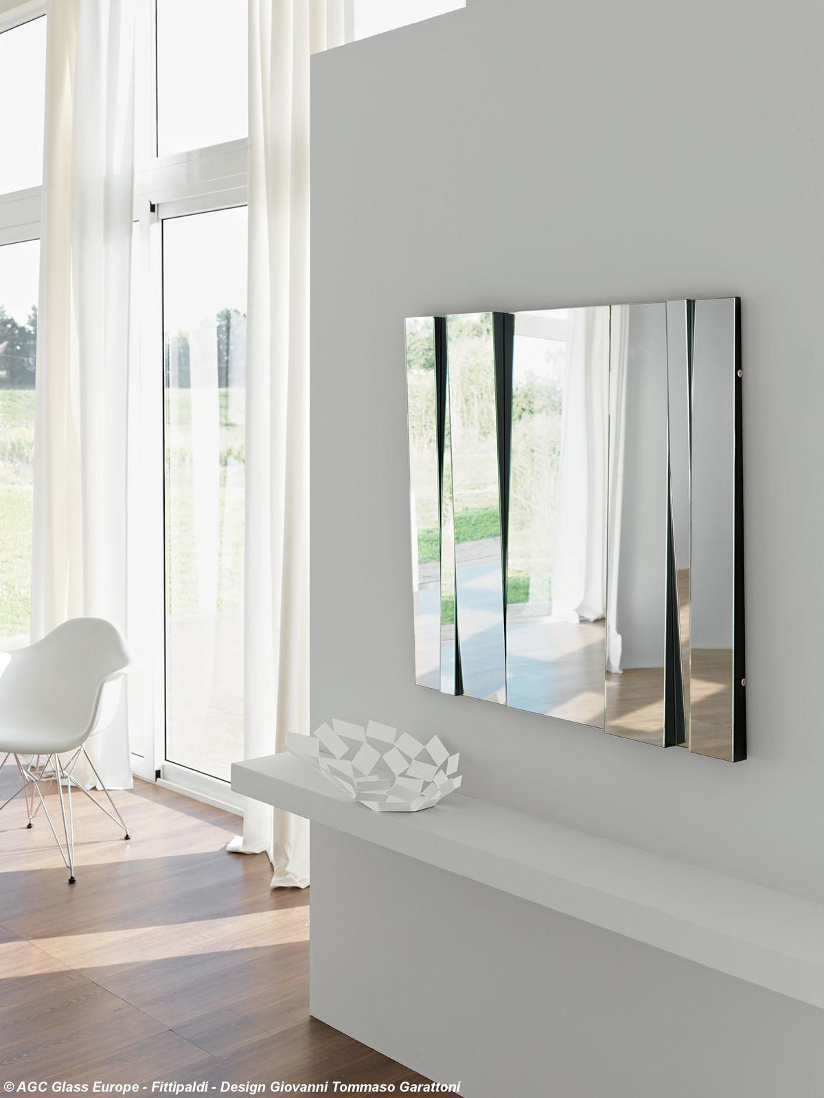 Mirror FITTIPALDI, design Giovanni Tommaso Garattoni