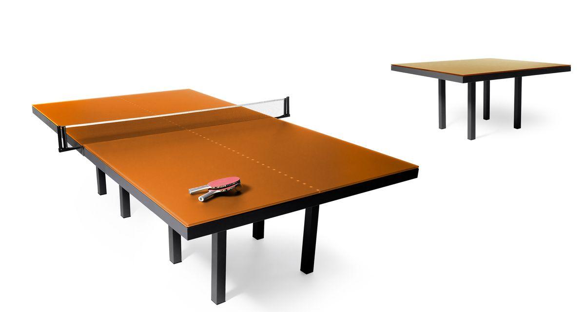 Skitsch Pang Table von Design Hub Orange