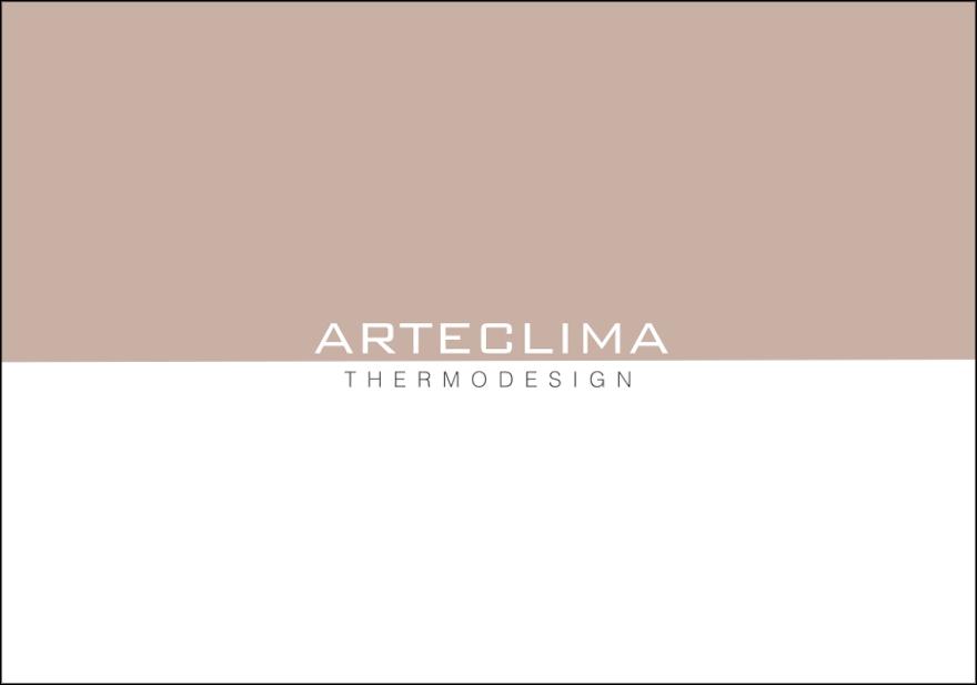 """Arteclima """"Thermodesign"""" die Abdeckung des neuen Katalogs"""
