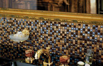 「宝石のバスルーム」のための貴重な石を持つ「Mスタイルコレクション」