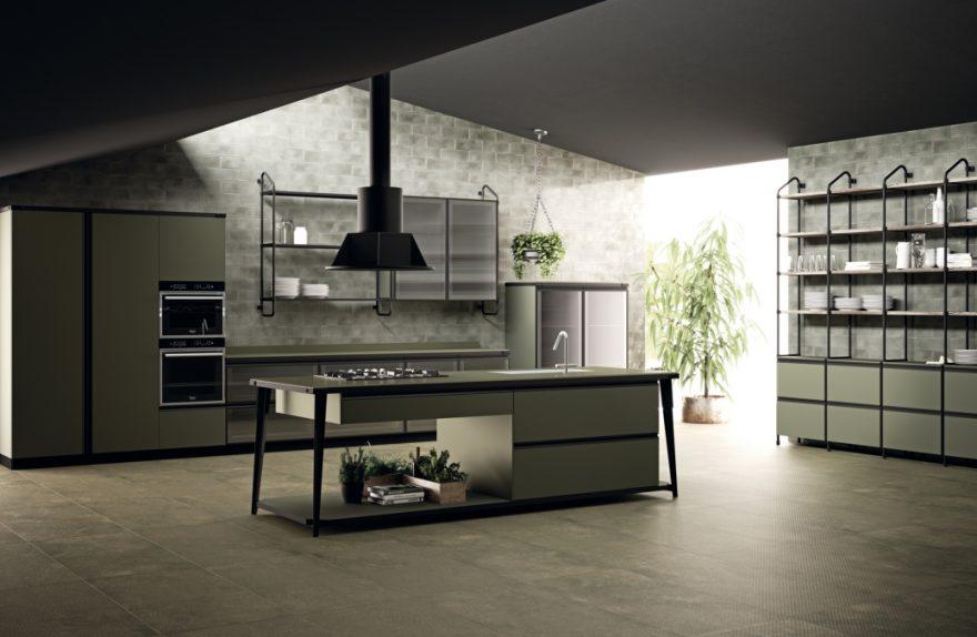 Diesel mit Scavolini Küche Offene Werkstatt