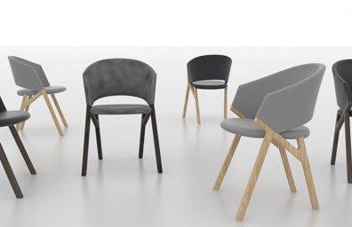 Byron, συλλογή από καρέκλες, Riccardo Giovanetti για την P & C
