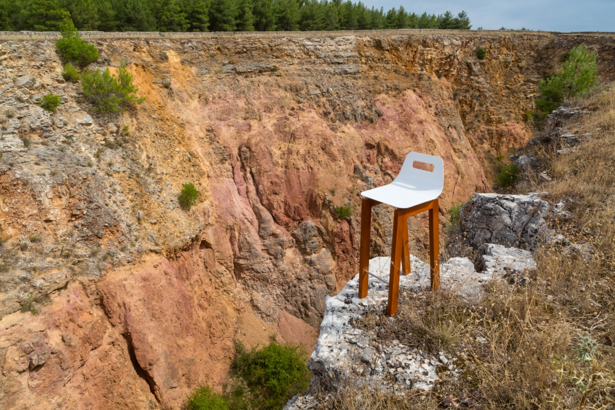 """Timo stool"", Michelangelo Olivieri design for m12 AD"