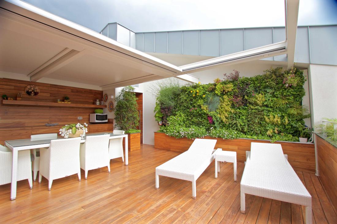Sundar Italie jardin vertical