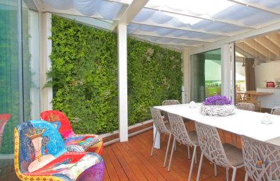 Sundar Italy private house vertical garden terrace