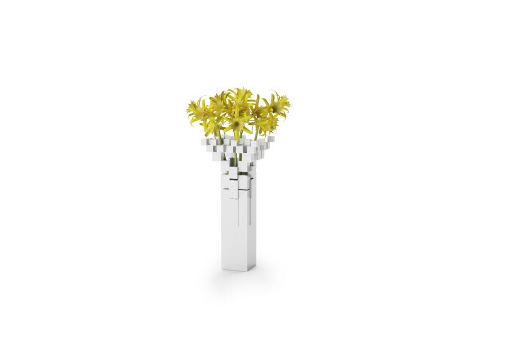 FLOWER-METAL Sammlung von Vasen, Yokohama Makers Dorf