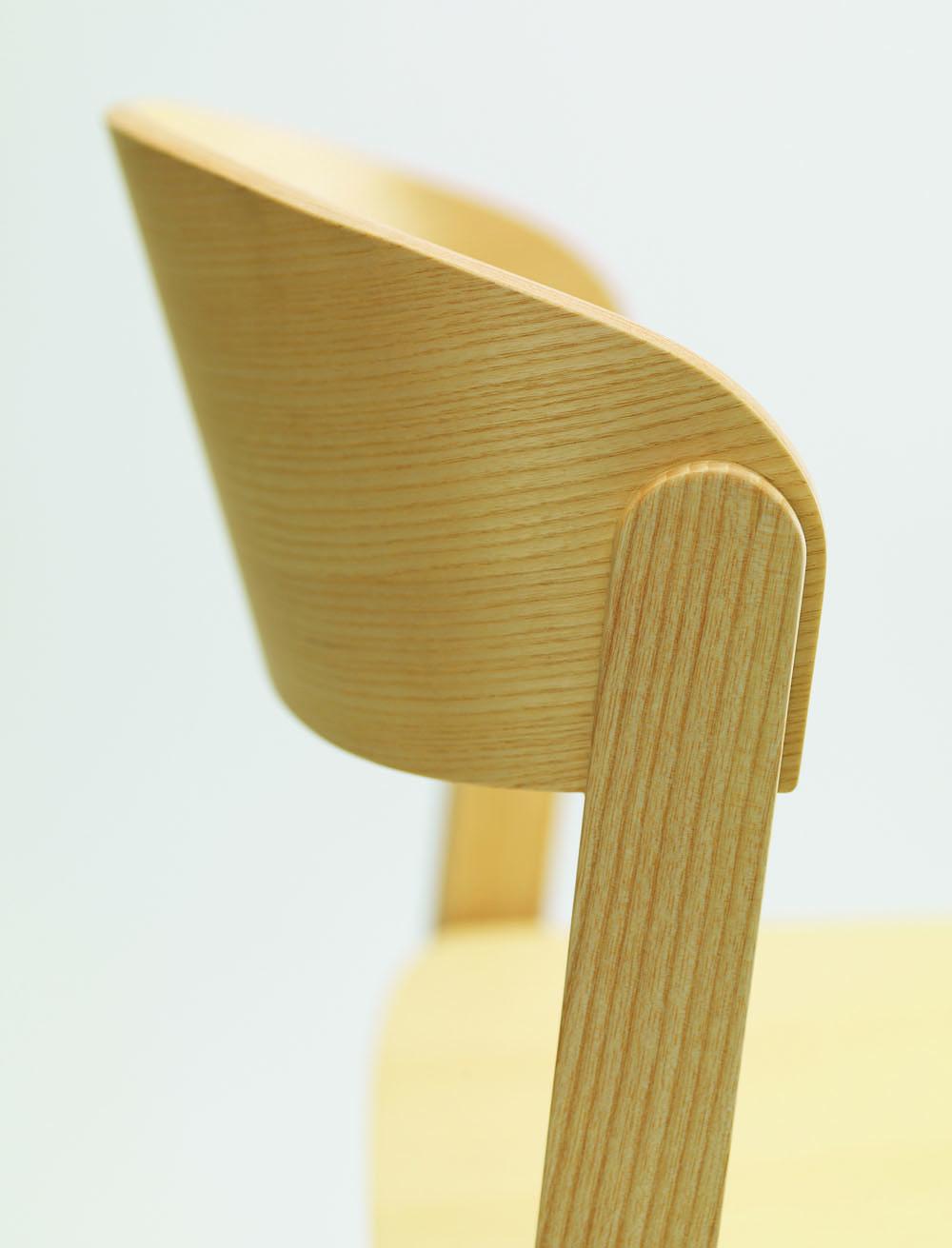 While the chair, detail
