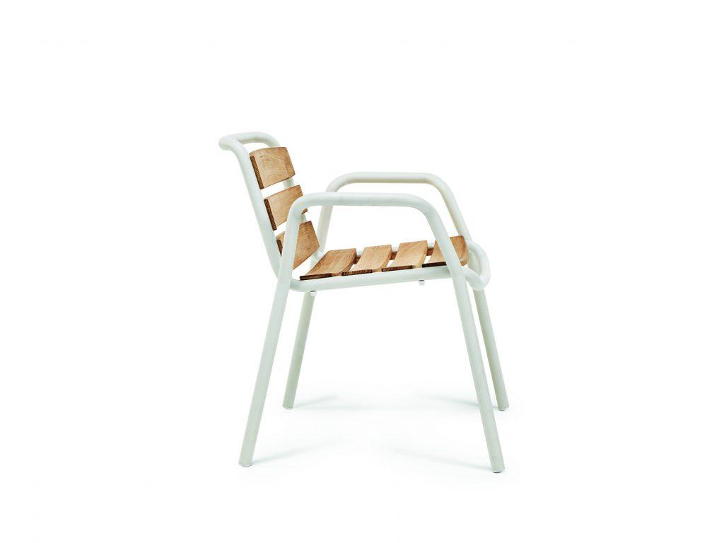 Στιτς καρέκλα με δικτυωτά πλευρά τικ