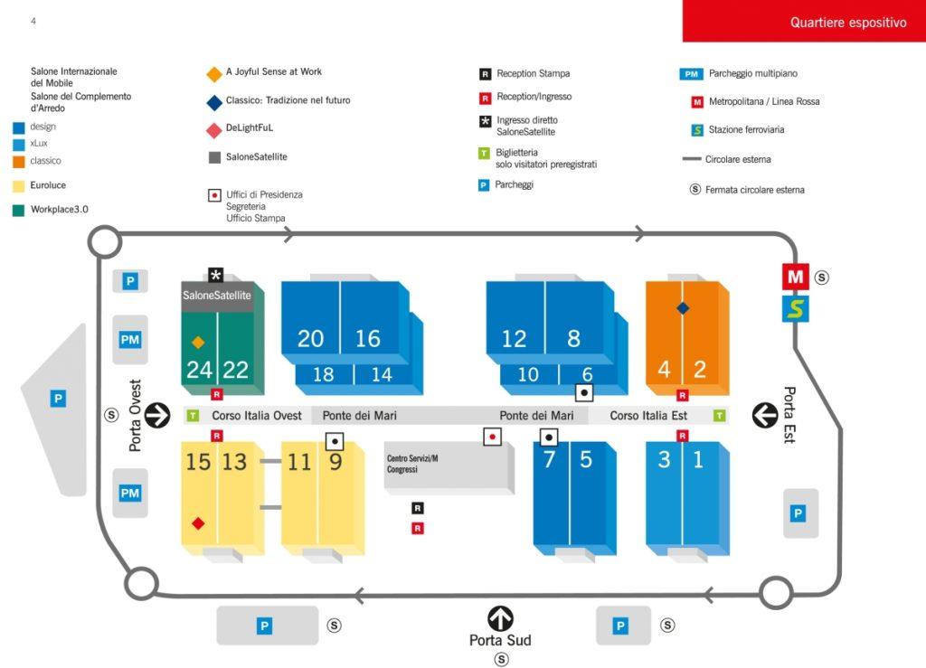 Plan Salone del Mobile 2017