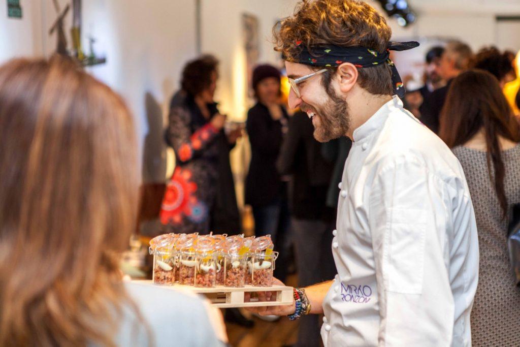 Infiniti Design-Einführung Contest - eine Zeit der Brunch mit Küchenchef Mirko Ronzoni