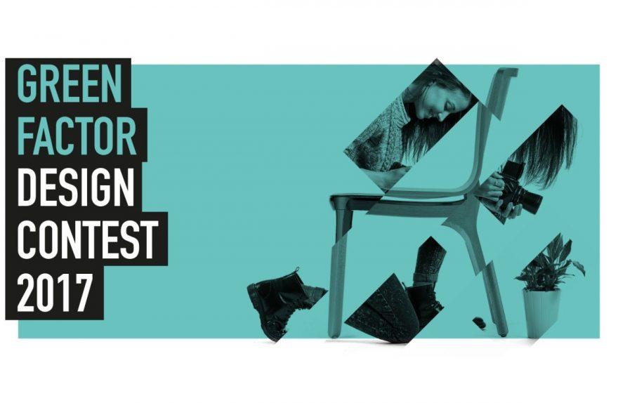 Design-Wettbewerb endlos grün Faktor Design-Wettbewerb