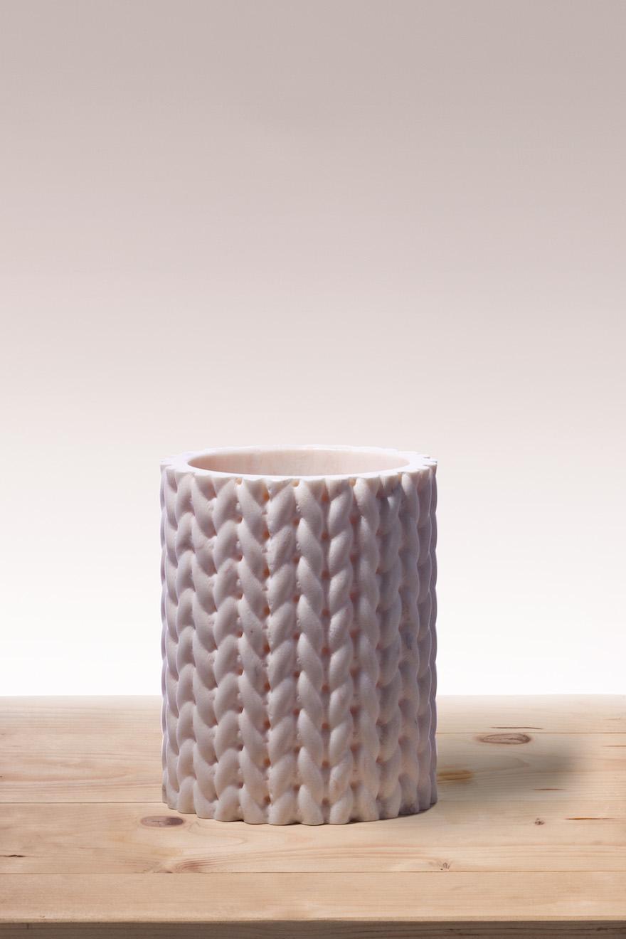 BUDRI Vases Tricot