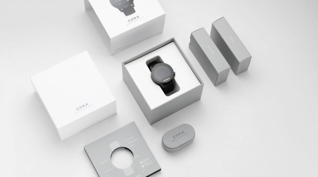 CORX Biometric Smartwatch