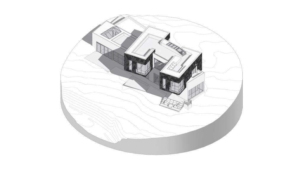 Stipfold - σπίτι Slashback, πλήρες μοντέλο