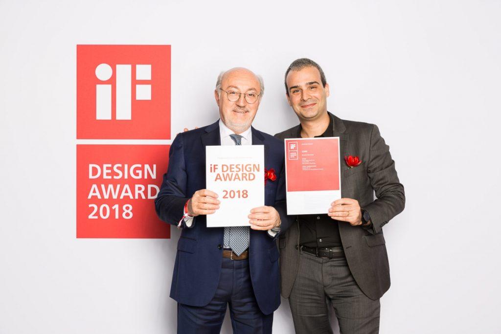 Βραβείο σχεδίασης iF Design CORX Biometric Smartwatch