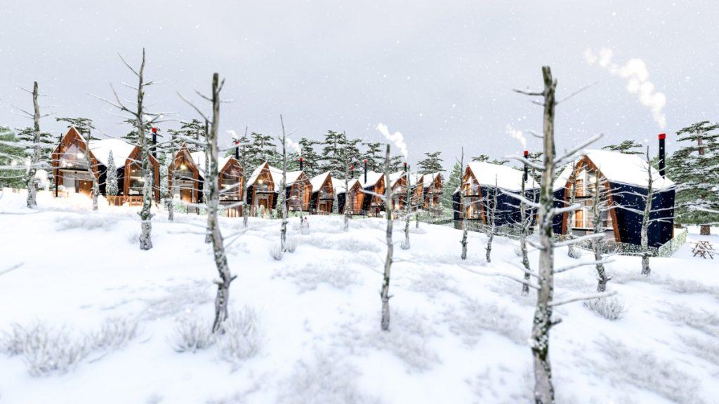 ONYXAMBLE cabins by Stipfold
