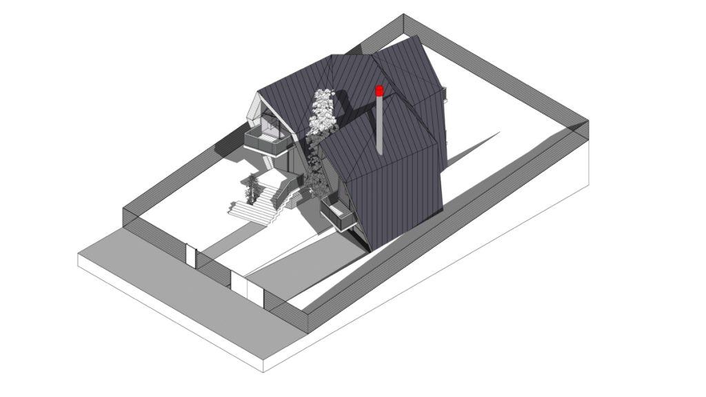 ONYXAMBLE cabins by Stipfold axonometry