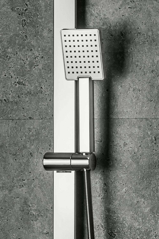 Damast Concept: un cable de pared deslizante, ducha NadalQ