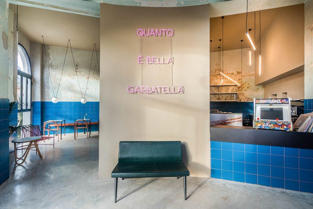 Το Tre de tutto, ιστορικό αρτοποιείο γειτονιάς μετατράπηκε σε ένα νέο μοντέρνο μέρος - STUDIOTAMAT