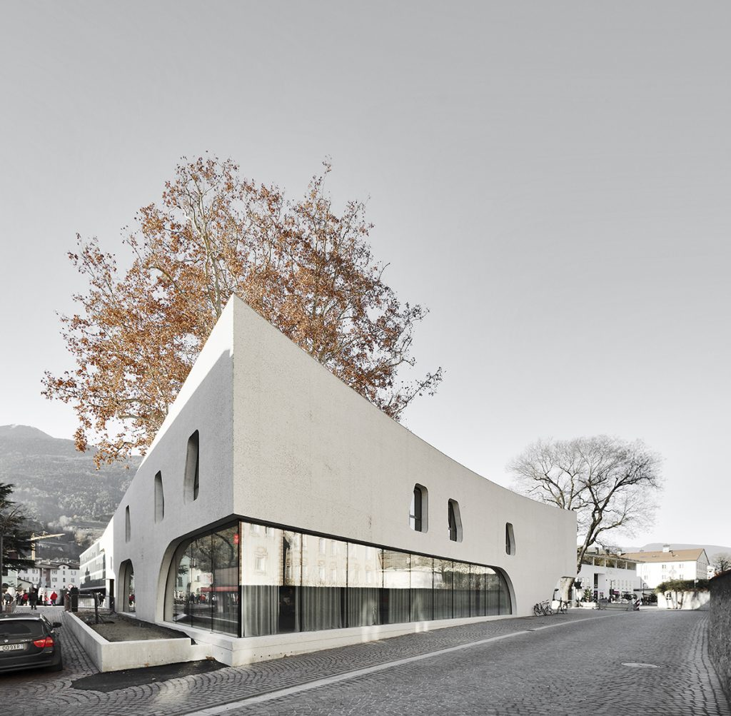 Sculptural volume and sinuous forms - TreeHugger - MoDusArchitects