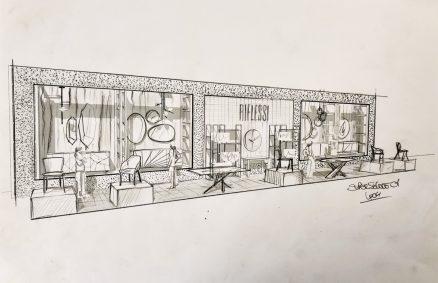Σκίτσο αντανακλαστικών Supersalone