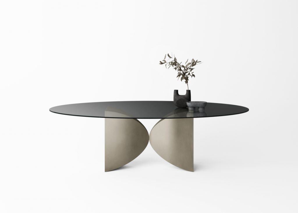 Meet Lago table preview Supersalone 2021
